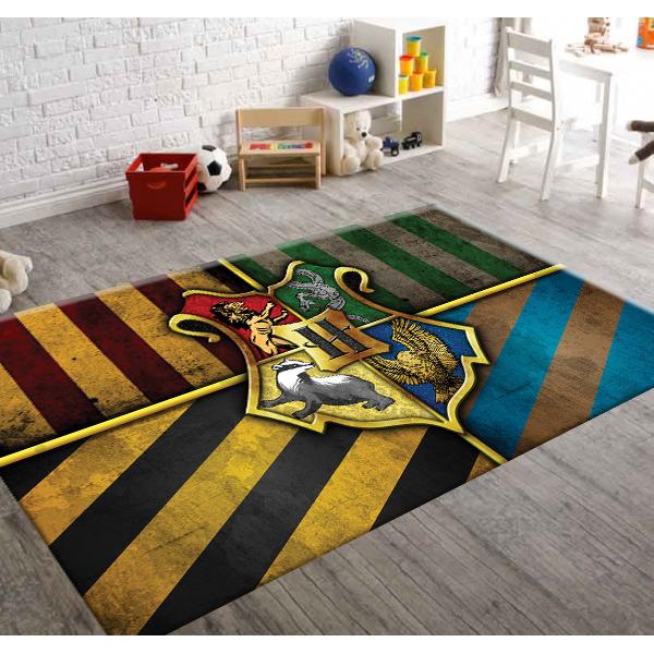 Herms Hogwarts,Kaymaz Taban,Çocuk Odası Halısı 140x200