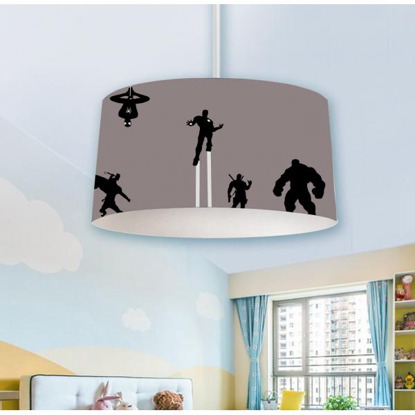 Veronya Avize,Avengers Desenli, Genç ve Çocuk Odası Avizesi